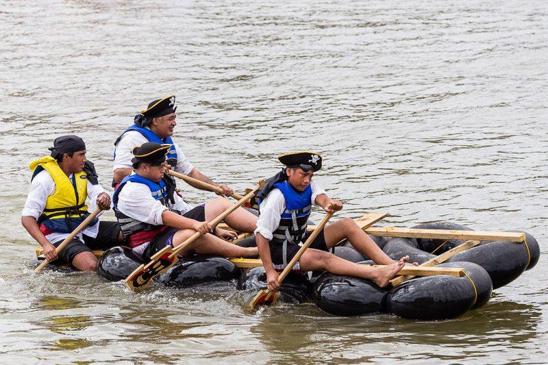 Whanganui River Raft Race